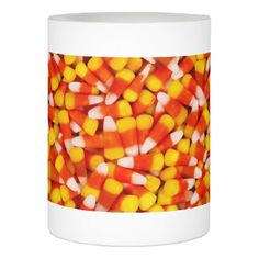 #I Love CANDY CORN Flameless Candle - #candle #candles #special #custom