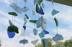 You could get a variety of wind chimes from the market, or utilize your own creativity and skills to make wind chimes for yourself. Description from greendiary.com. I searched for this on bing.com/images