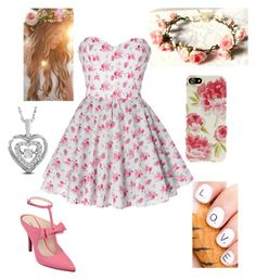 """""""Valentine's Day #1"""" by briony-jae ❤ liked on Polyvore"""