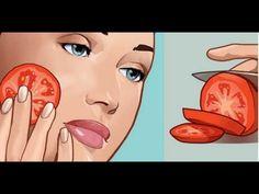 Ella se froto un tomate recién cortado en la cara por 1 minuto, el efecto me dejo sin palabras!!! - YouTube