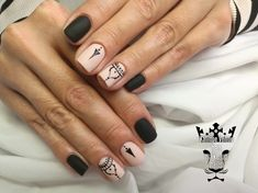 Black-nude nails  #nails #nailart #shortnails #blacknudenails #mattenails #nailsoftheday  #minimalnails #nailaddict #nailprodigy #nailartist #marinaveniou #nailartseminars #trustthexperts #beautymakesmehappy   www.kalliopeveniou.gr