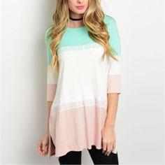 Bundle for s5kolk Color block top- S/ Blue top-M/ lavender dress M Other