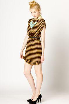 ClassicStripe Dress