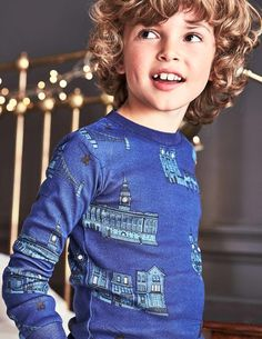 Air Force Pajamas (Roald Dahl Collection) by Mini Boden