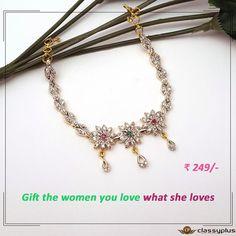 Gift the #Woman you love, what she loves. #Classyplus #OnlineShopping #Jewelry #Bracelet https://goo.gl/itTHAk