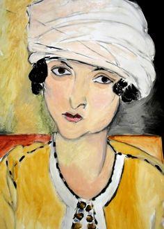 Henri Matisse, Lorette with Turban and Yellow Jacket on ArtStack #henri-matisse #art