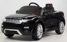 cool RANGE ROVER EVOQUE RIDE ON CAR 12VOLTS BATTERY OPERATED REMOTE CONTROL. BLACK - For Sale