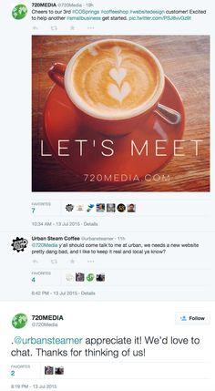 #coffee #coloradosprings #websitedesign #720MEDIA
