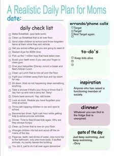 This is the best daily routine I've seen. So hilarious and true on so many levels. I had to post it....even if I don't use it. =)
