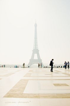 Trocadero by Andrea Janes.  Seeing a famous icon in a different .. Light.  :)