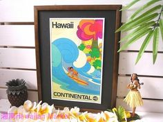 Peter Max  Vintage Hawaiian Poster