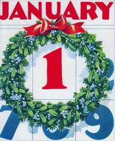 Happy January 1st! #New_Years #vintage #1940s