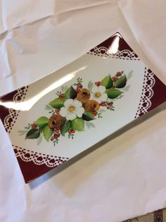Christmas plate by Angela Davies