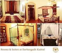 Kadval #Darbargadh offers the finest choices accommodation with well furnished room's & suites. The #rooms are spacious and offer all modern facilities & services for a comfortable stay. Visit : http://www.darbargadhkadval.com/
