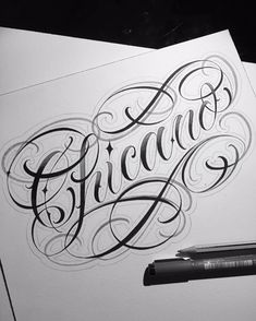 Tattoo Lettering Styles, Chicano Lettering, Script Lettering, Tattoo Fonts, Lettering Design, Graffiti Tattoo, Graffiti Drawing, Graffiti Lettering, Tattoo Alphabet