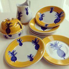 abacaxi  pratos