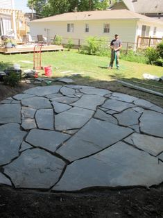 458 Best Stone Patio Ideas Images In 2019 Flagstone