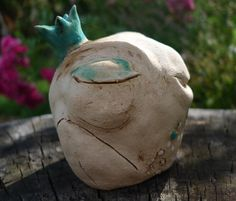 Deko-Objekte - Froschkönig - ein Designerstück von BlueBird4U bei DaWanda