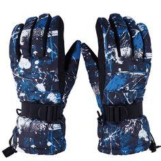 -30 Degree Men Women Winter Snow Gloves Waterproof Windproof Ski Gloves Unisex Thicken Warm Snowboard Cycling Motorcycle Gloves