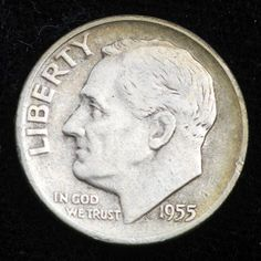 Silver dime: when our money still had some real value. Silver Dimes, Gold And Silver Coins, Dollar Money, Valuable Coins, Coins Worth Money, Coin Worth, Coin Values, Old Money, Rare Coins
