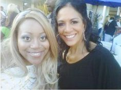 "Schatar ""Hottie"" Sapphira and Sheila E."