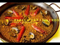 Paella Valenciana, Ethnic Recipes, Youtube, Food, Recipes, Rice, Dishes, Cooking, Yacht Club