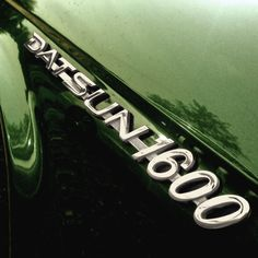 A thing of beauty. Datsun 1600, Rotary, Engine, Cars, Green, Beauty, Motor Engine, Autos, Vehicles