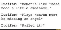 Actual scene from Supernatural