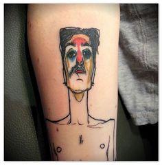 Egon Schiele Tattoo | Zoom - Egon Schiele Tattoo / Roberel (Dragon Tattoo Paris ... | Fashi ...