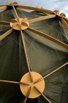 wood dome