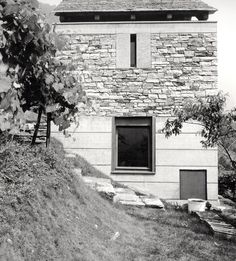 Livio Vacchini - Rezzonico house renovation, Vogorno 1985