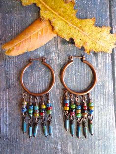 Chaco Canyon ~ earrings by qisma @ Etsy