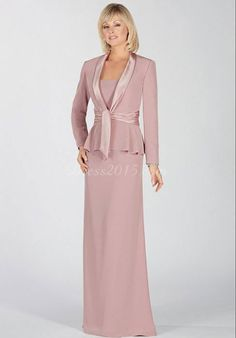 Sheath Chiffon Scoop Lavender Wrap Ruffles Mother Of The Bride Dress  #DWR2104  Our Price: $169.99