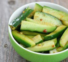 Chinese Spicy Cucumber Salad | Kirbie's Cravings | A San Diego food blog