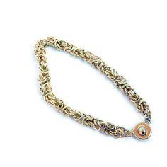 Byzantine chainmaille bracelet by BramalfieBeadsetc on Etsy, £20.00