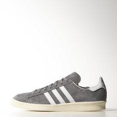 Find your adidas Grey - Campus - Shoes at adidas. All styles and colours available in the official adidas online store. Adidas Campus, Adidas Canada, 80s Shoes, Men's Shoes, Sneakers Adidas, Adidas Men, Nigo, Japanese Street Fashion, Adidas Official