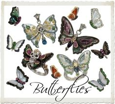 barbara bixby necklace | Barbara Bixby Butterfly jewelry Butterflies and Skullerflies....Love ...