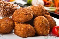 Receita de Bolinho de batata com frango em receitas de salgados, veja essa e outras receitas aqui!