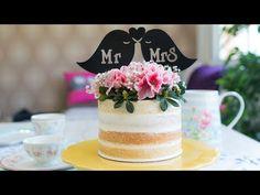 Vídeo-receta: Nude cake de piña y coco