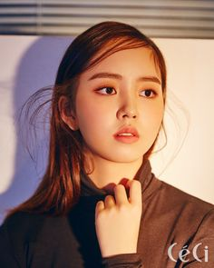 Kim So Hyun for Ceci Korea November 2017. Photographed by Shin Sun Hye