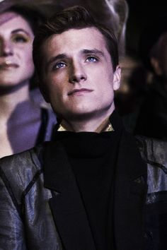 Peeta Mellark: he's one of those fictional characters I absolutely fell in love with and wish was real.