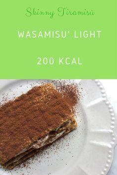 Skinny tiramisù (less than 200kcal!) - Tiramisù light con Wasa