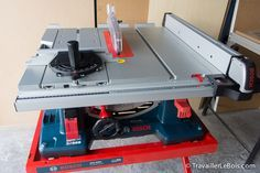 Scie sur table Bosch GTS 10 XC : http://www.travaillerlebois.com/scie-sur-table-bosch-gts-10-xc-1ere-partie-montage/