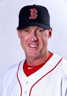 FORT MYERS, FL - MARCH 01: Brian Butterfield (3rd base coach) #55 of the Boston Red Sox poses for a portrait on March 1, 2015 at JetBlue Park in Fort Myers, Florida. (Photo by Elsa/Getty Images) Boston Red Sox Team Photos - ESPN