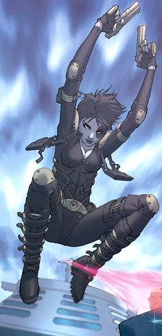 Domino by Jorge Molina. He is a very Con friendly artist.