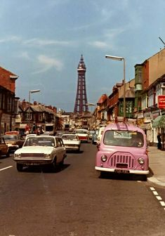 Blackpool! Although I've spent my whole life here,and it's changed so much in recent years......this is how I still picture my home town!