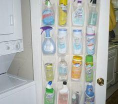 Przechowywanie środków czystości