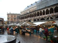 The market in Padova, Italy.    When I travel, I head right to the open markets.  This is one of the best markets of all!