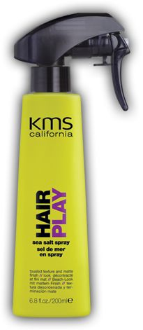 KMS California - Products - Sea Salt Spray....this is an awesome product if you're wanting to achieve natural looking beach waves.