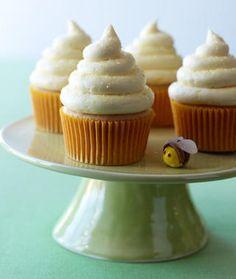 Lemon Honey Cupcakes.